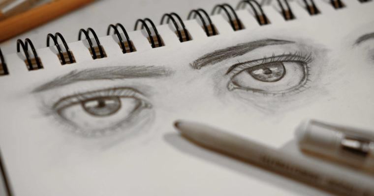 21 Tage Portrait-Challenge #Tag 01 – wie malt man ein Portrait?