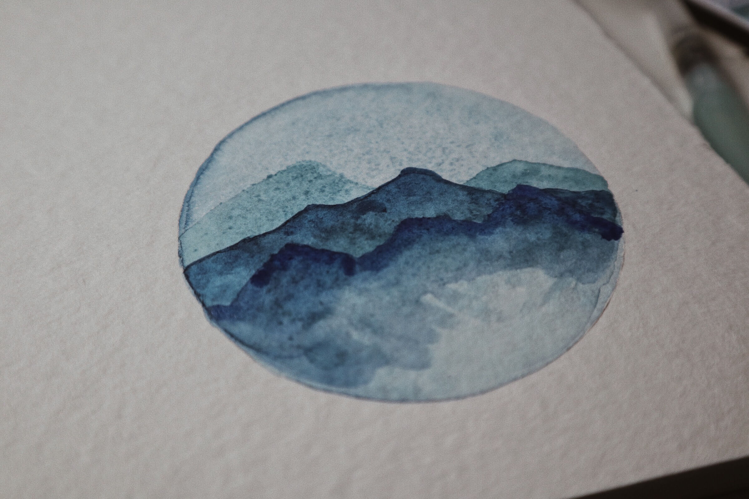 Watercolor malen