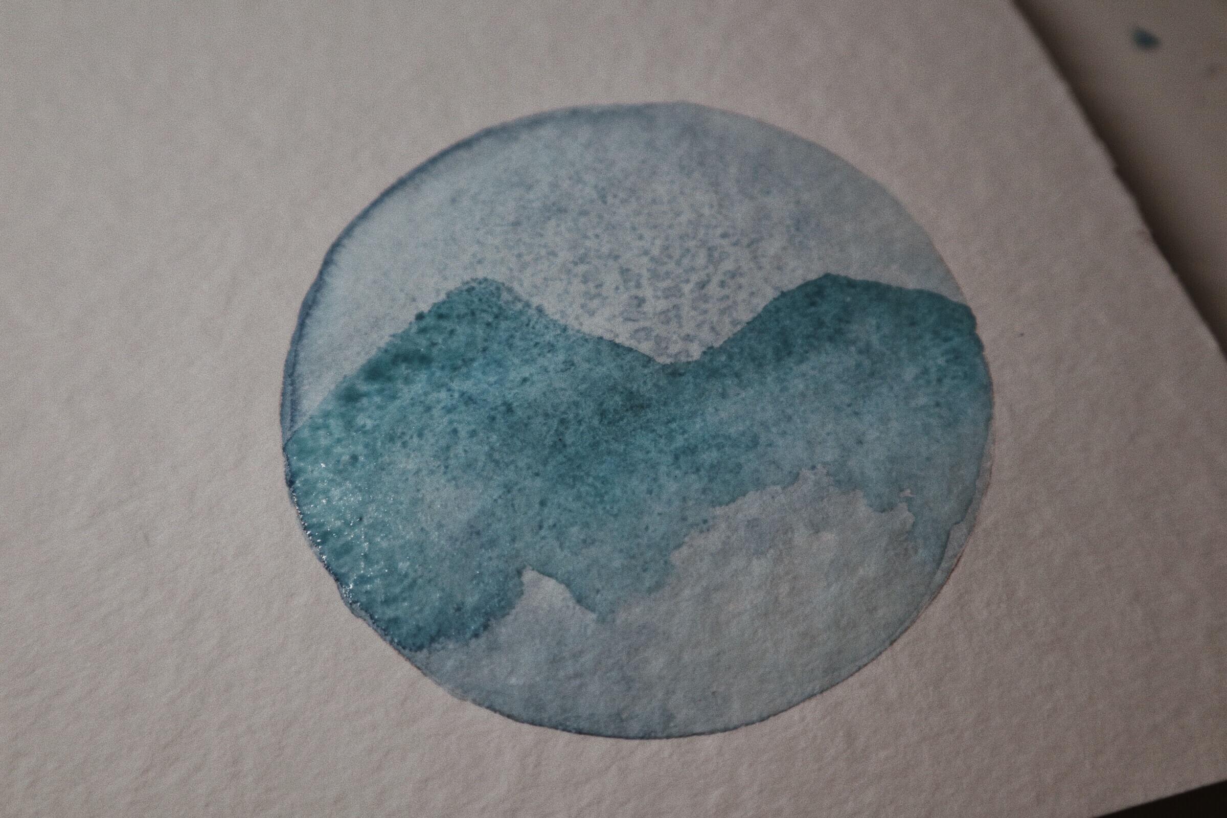Watercolor-Kreis