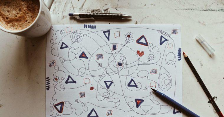 Drei Aufwärmübungen fürs Malen und Zeichnen