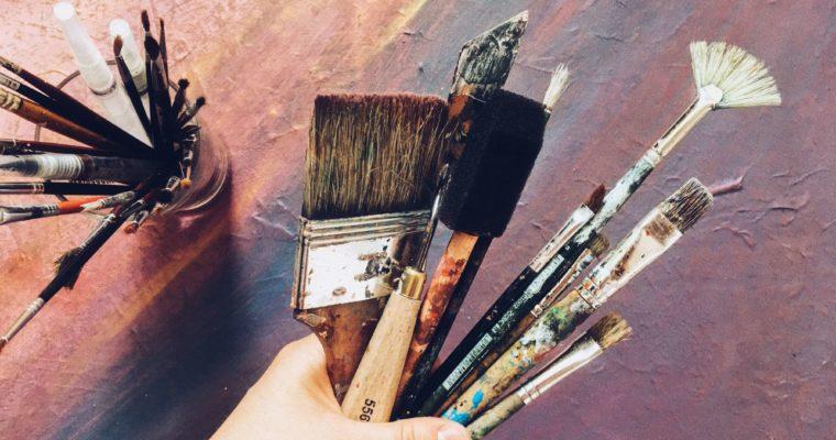 Intuitives Malen – diese Materialien brauchst du