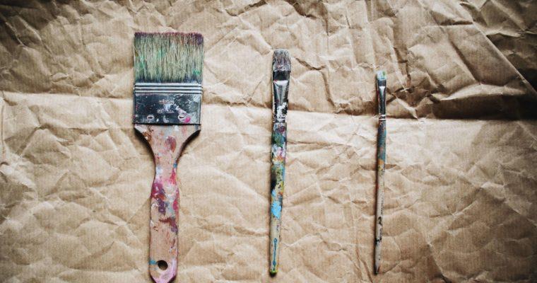 Pinselkunde: Welchen Pinsel nutze ich wofür in der Acrylmalerei?