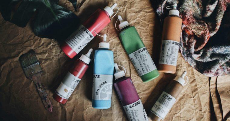 Acrylmalerei – das kleine 1×1 der Acrylfarben