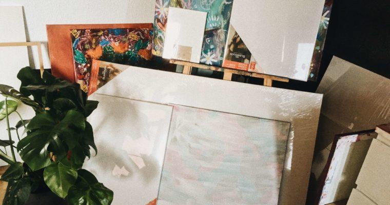 Leinwände & Co – Malgründe für die Acrylmalerei