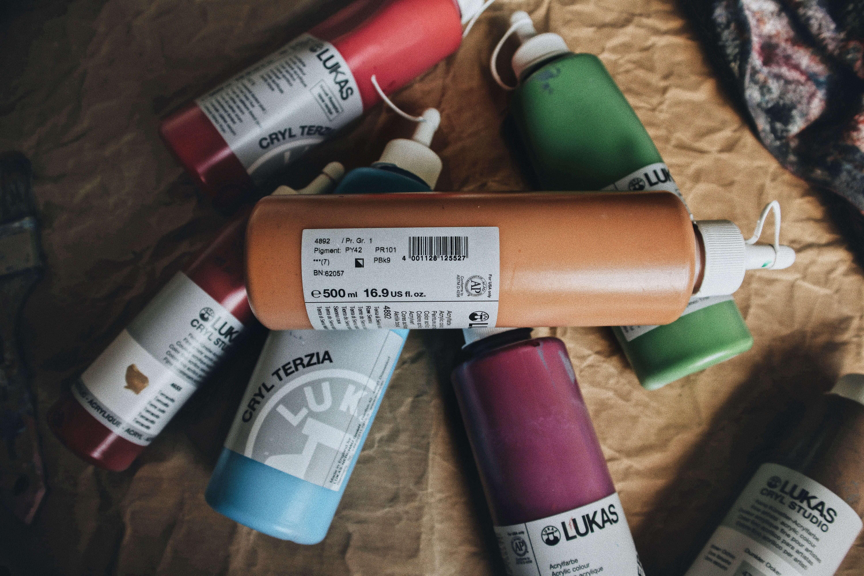 Acrylfarben Deckkraft